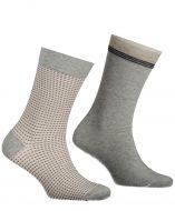 Jac Hensen sokken - 2-pack - grijs