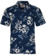 Anerkjendt overhemd - slim fit - blauw