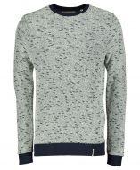 Anerkjendt pullover - slim fit - blauw