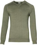 Jac Hensen pullover - slim fit - groen