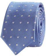 Nils stropdas + pochet - blauw