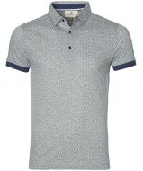Gentiluomo polo - slim fit - grijs