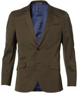 sale - Matinique colbert - slim fit - groen