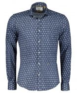 New in Town overhemd - slim fit - blauw