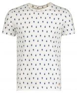 New in Town T-shirt - slim fit - wit