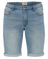 Hensen short - slim fit - blauw