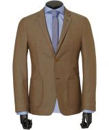 sale - Hensen colbert - slim fit - beige