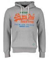 Superdry sweater - slim fit - grijs