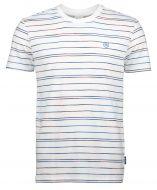Qubz T-shirt - modern fit - wit