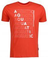 Qubz t-shirt - modern fit - rood