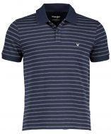 Wrangler polo - modern fit - blauw