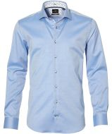 sale - Jac Hensen overhemd - extra lang - blauw