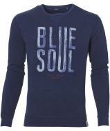 Pepe Jeans pullover - slim fit - blauw