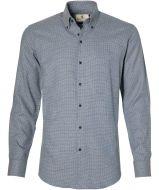 Gentiluomo overhemd - slim fit - blauw