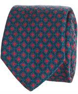 Hensen stropdas - blauw - dessin