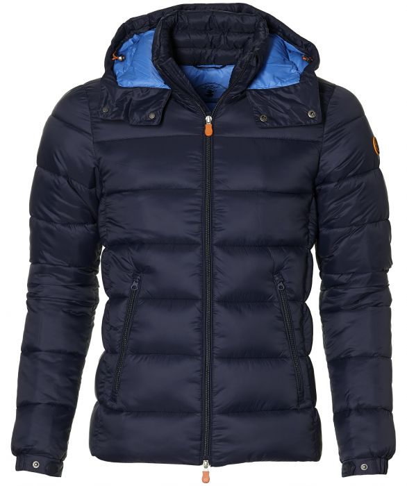 Save the Duck jack slim fit blauw S