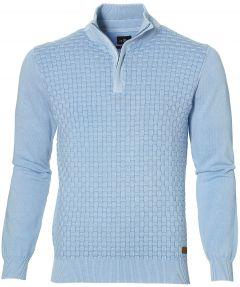 Jac Hensen polo- modern fit - blauw