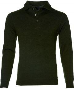 Gentiluomo pullover - slim fit - groen