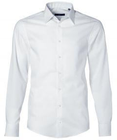 Venti overhemd - slim fit - wit