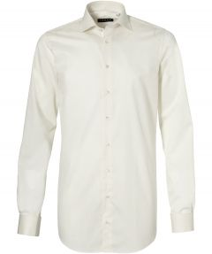 sale - LeDub party overhemd - extra lang - ecru