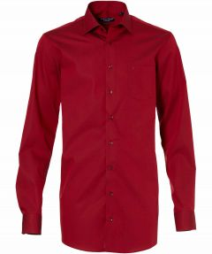 sale - Casa Moda overhemd - extra lang - rood