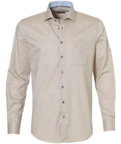 sale - LeDub overhemd - extra lang - beige