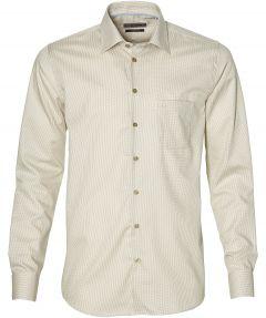 Ledub overhemd - modern fit- beige