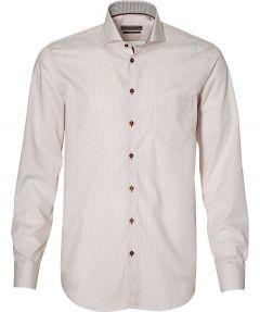 Ledub overhemd - modern fit - rood