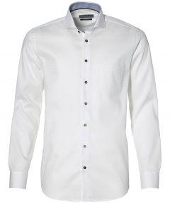 Ledub overhemd - modern fit - wit