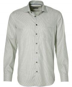 Ledub overhemd - modern fit - groen