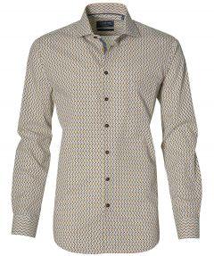 Ledub overhemd - modern fit - geel