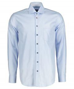 Ledûb overhemd - modern fit - blauw