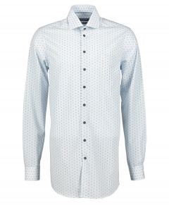 Ledub overhemd - extra lang - blauw