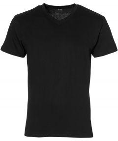 Jac Hensen T-shirt - v-hals - zwart