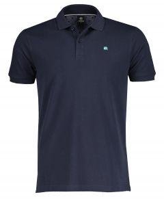 Lerros polo - modern fit - blauw