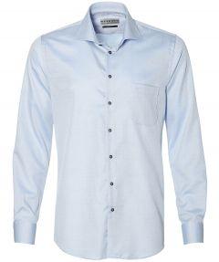 sale - Ledub overhemd - modern fit - blauw