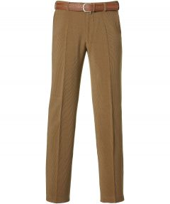 Corduroy pantalon - regular fit - beige