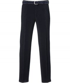 Corduroy pantalon - regular fit - blauw