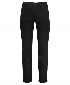 Hensen chino - slim fit - zwart