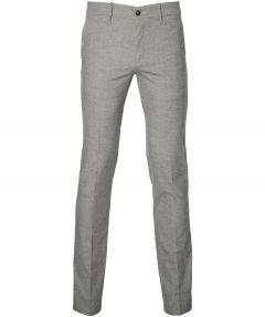 Hensen pantalon - slim fit - grijs