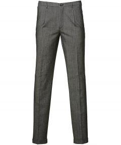 Nils pantalon - slim fit - antra