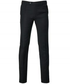 City Line by Nils pantalon - slim fit - zwart