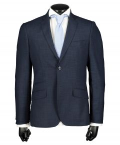 City Line by Nils kostuum - slim fit - blauw