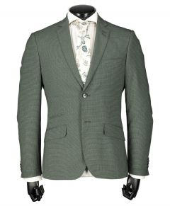City Line by Nils kostuum - slim fit - groen