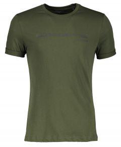 Björn Borg t-shirt - slim fit - groen