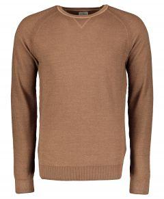 Jac Hensen pullover - slim fit - bruin