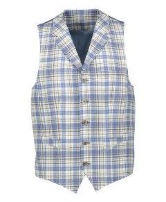 Move by Digel trouwgilet - slim fit - blauw