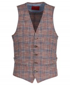 Move by Digel trouwgilet - slim fit - rood