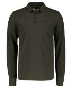 No Excess polo - modern fit - groen