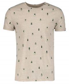 No Excess t-shirt - modern fit - beige